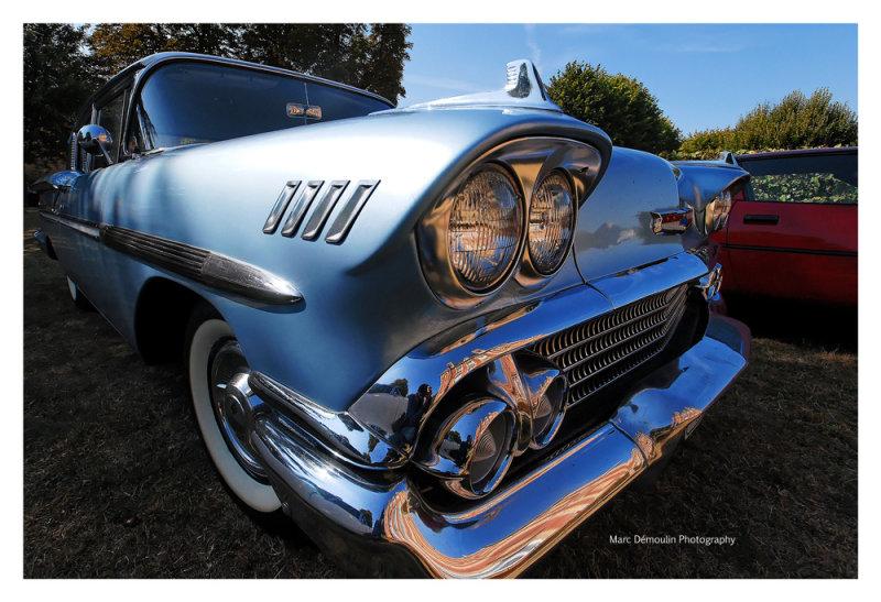 Chevrolet Bel Air 1958, Ecquevilly 2009