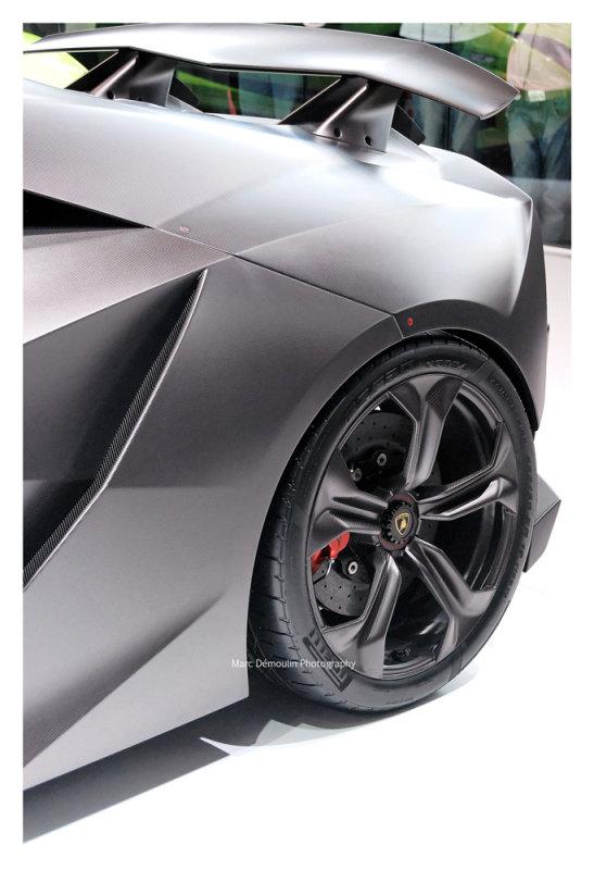 Lamborghini Sesto Elemento , Paris 2010