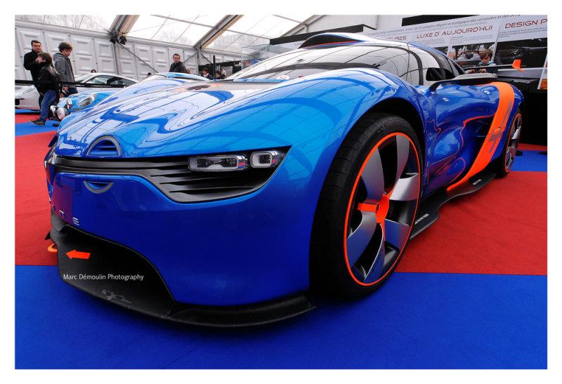 Alpine A110-50, Paris 2013