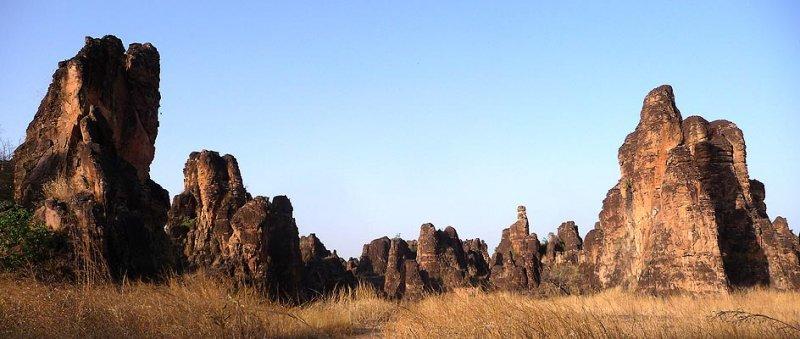 The Peaks of Sindou, southwestern Burkina Faso