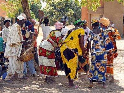 Traditional dance, Burkina Faso