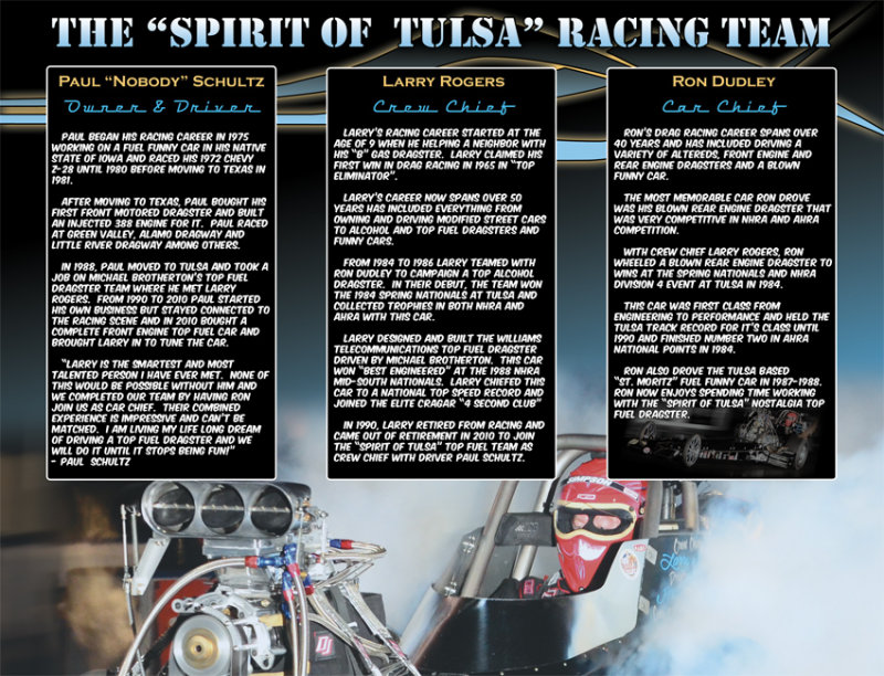 Spirit of Tulsa NTF 2013