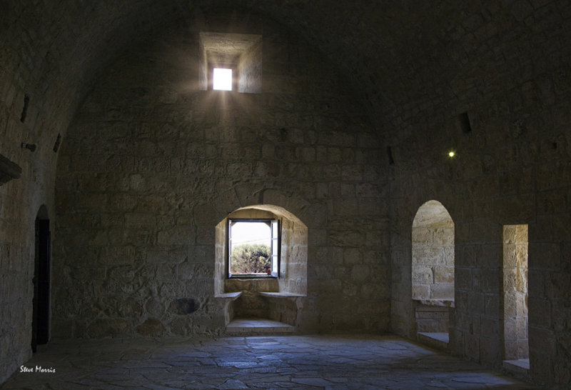Crusader castle atmosphere
