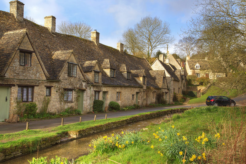 Arlington Row, Bibury, Gloucestershire.