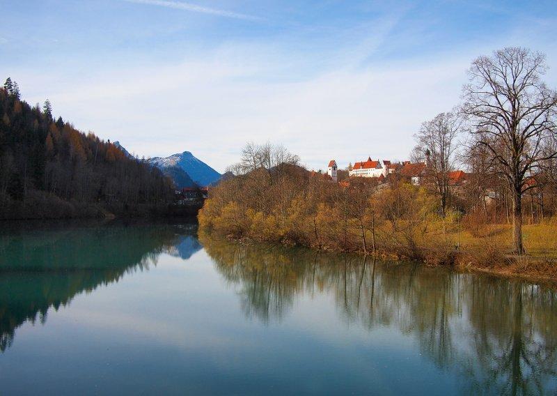 Lech River by Fuessen
