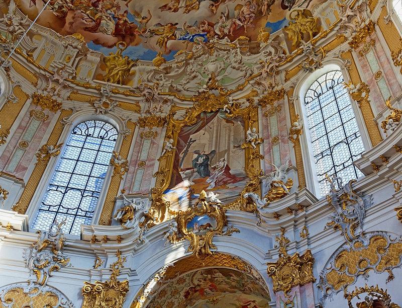 Ettal Abbey Interior Details
