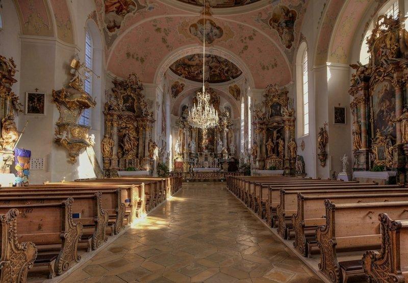 Catholic Parish, St. Peter and Paul  - Interior