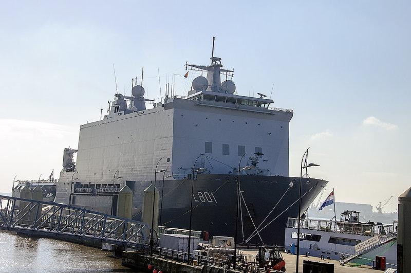 Dutch naval ship Hr Ms Johan De Witt