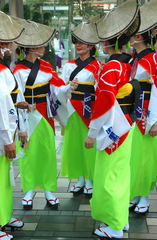 Traditions in its bright colours