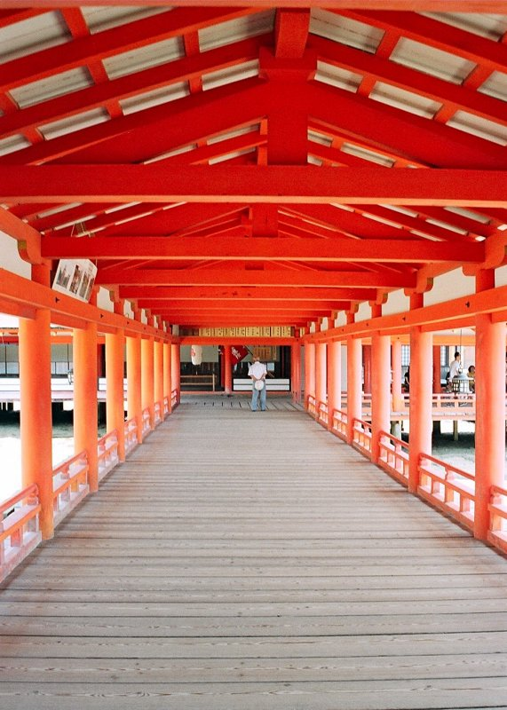 Itsukushima Shrine -  Miyashima Island