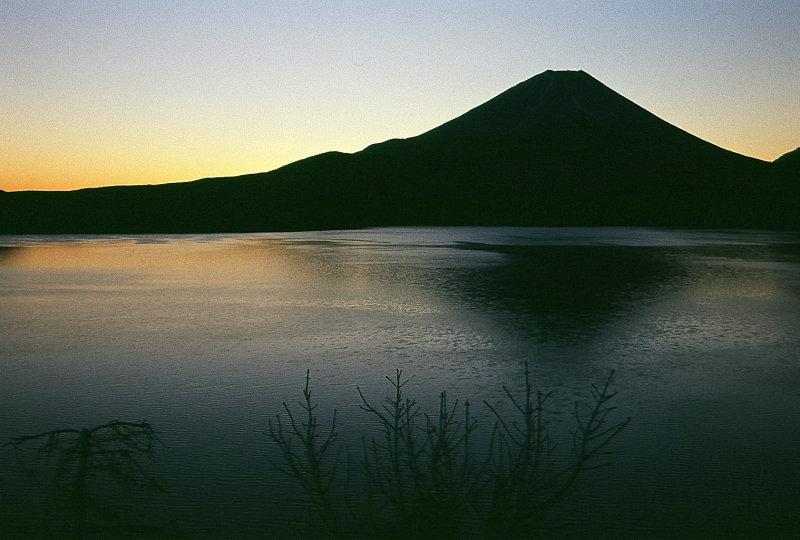 Sunrise at Fuji-san