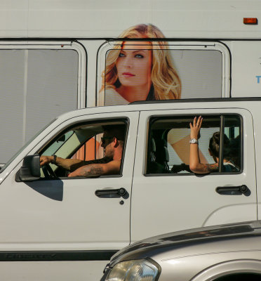 Traffic, Miami Beach, Florida, 2013