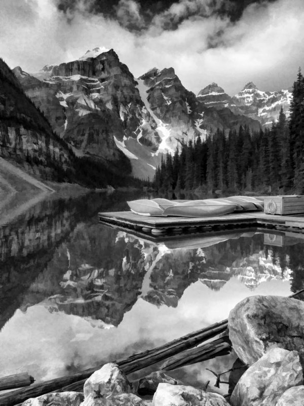 Moraine Lake Oil