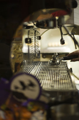 19th October 2012 <br> frothy machine