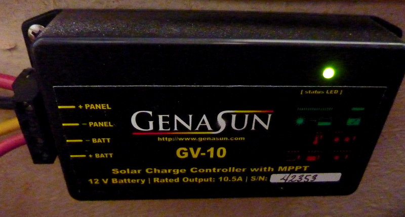 Coupled With a Genasun GV-10
