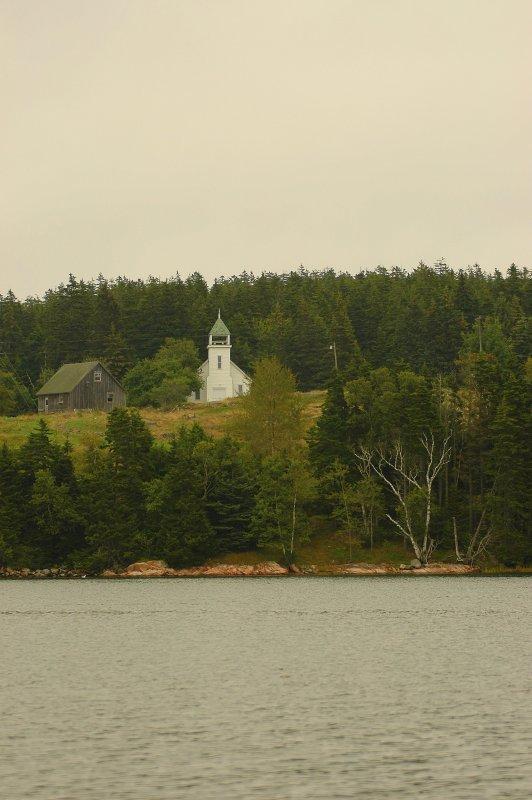 Island Church - Swans Island