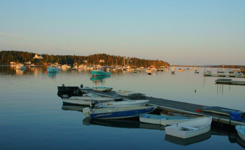 Sunrise Fox Isle Thorofare