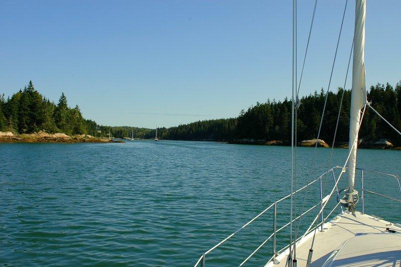 Entering Long Cove - Vinalhaven Island