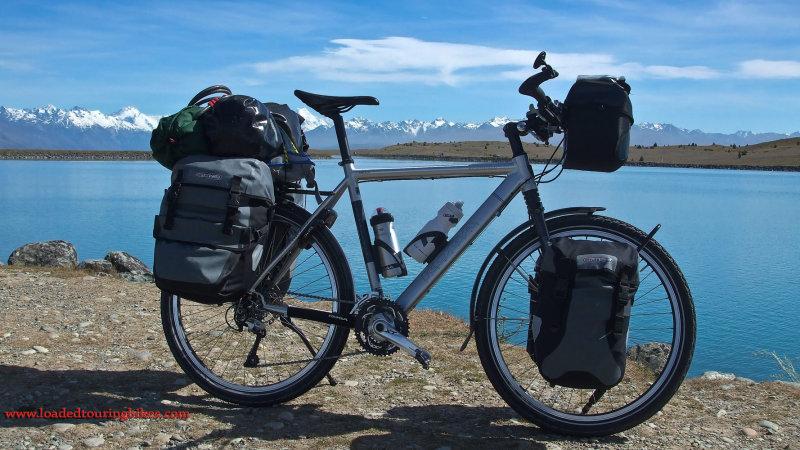 391    Nick touring New Zealand - Koga WorldTraveller KS-TR 26 touring bike