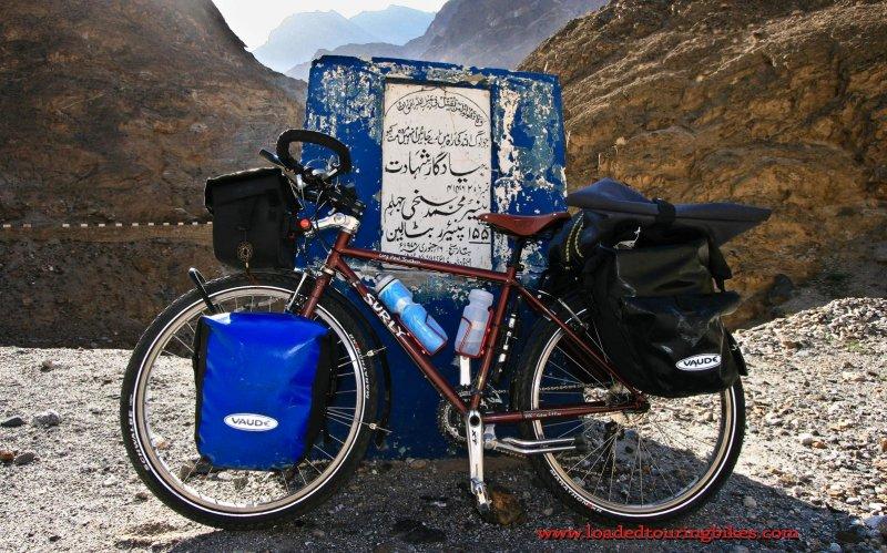 409    Paul touring Pakistan - Surly Long Haul Trucker touring bike