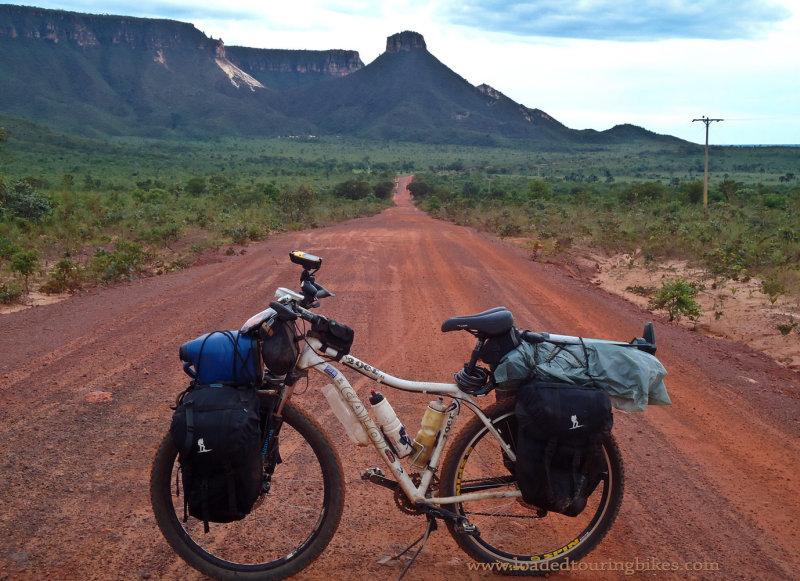 423    André touring Brazil - Caloi Two Niner touring bike