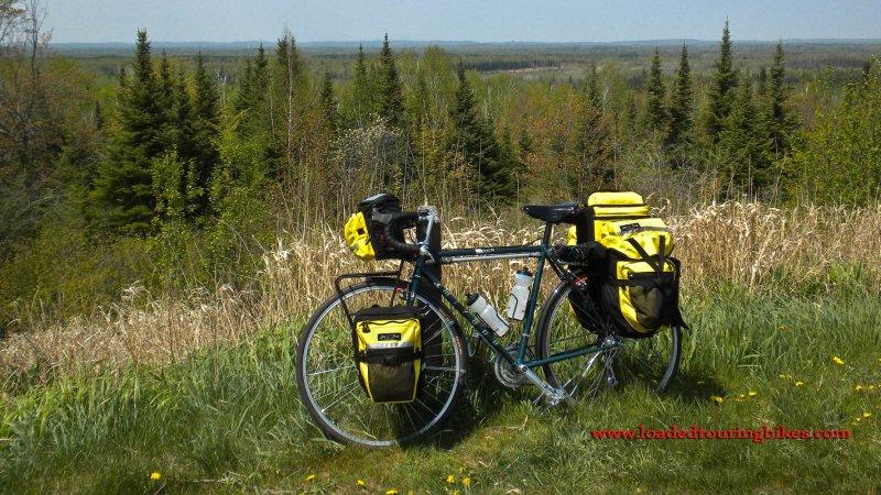 438    Randy touring Minnesota - Miyata 1000LT touring bike