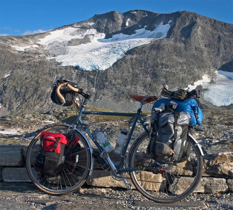 104  Daniel - Touring Norway - Surly Long Haul Trucker touring bike