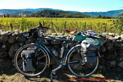 405    Greg touring California - Surly Long Haul Trucker touring bike