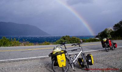 424    Shelley & Mark touring Argentina - Koga Miyata World Traveller touring bikes