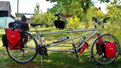 426    Steve & Ellie touring England - Orbit Routier touring bike