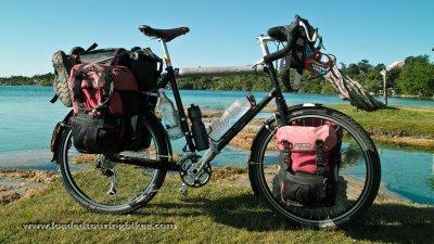 432    Matt touring Mexico - Thorn eXXp touring bike