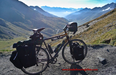 440    Paul touring France - Orbea Arama touring bike