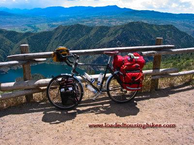 009  Ron - Touring through Colorado - Thorn Nomad touring bike
