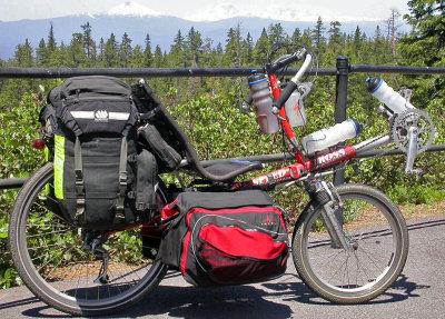 094  Wayne - Touring Oregon - Ross, Speed Ross touring bike