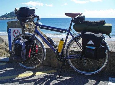 106  John - Touring the UK - Revolution Country touring bike