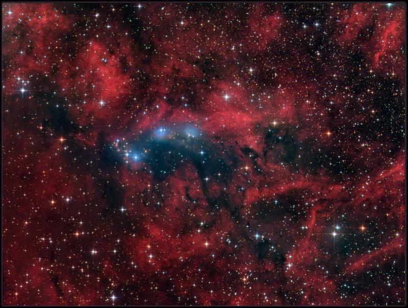 NGC 6914 in Cygnus