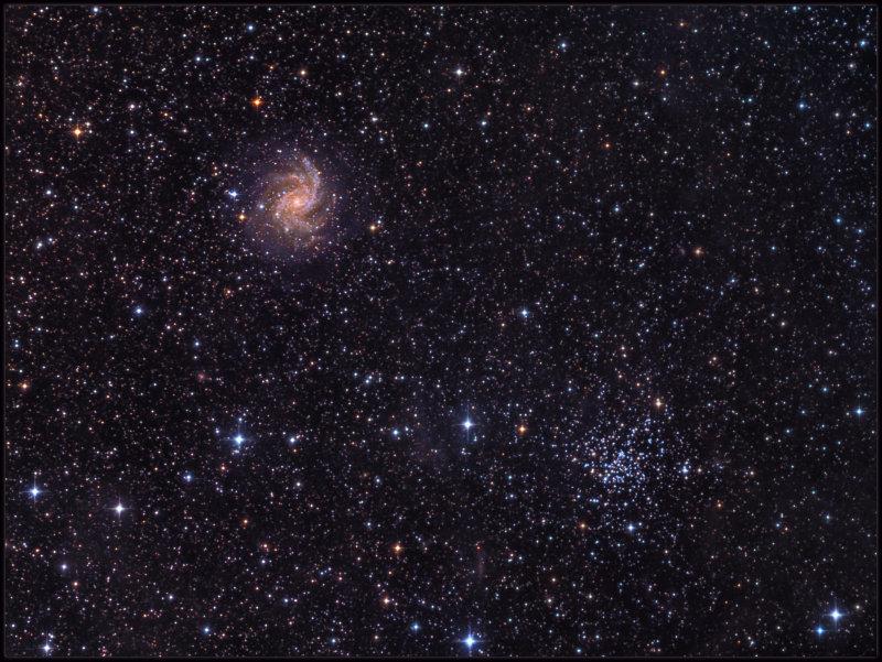 NGC 6946 & NGC 6939