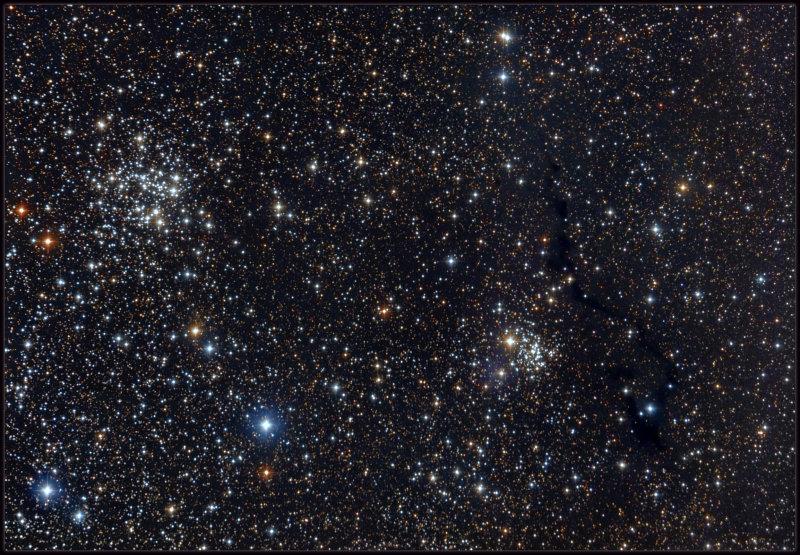 NGC 663, 654 LDN 1332-1334 - 1337 and VDB 6