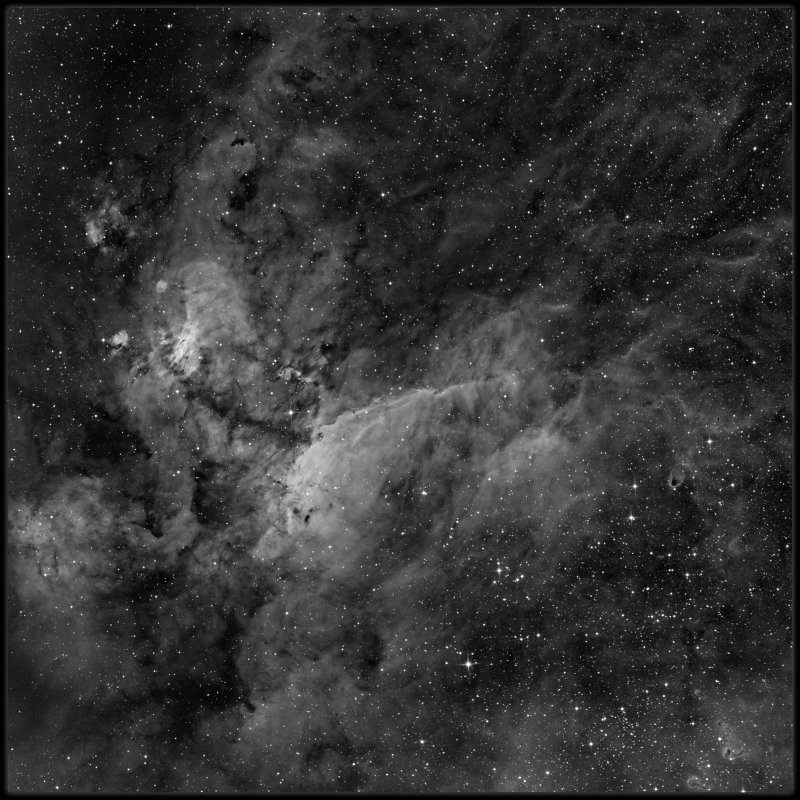 The Prawn nebula - Ha only