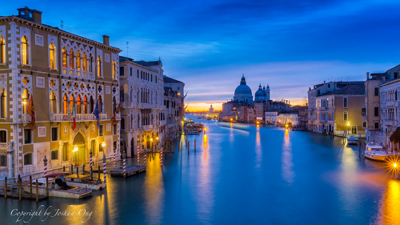 Captured from Ponte Accademia