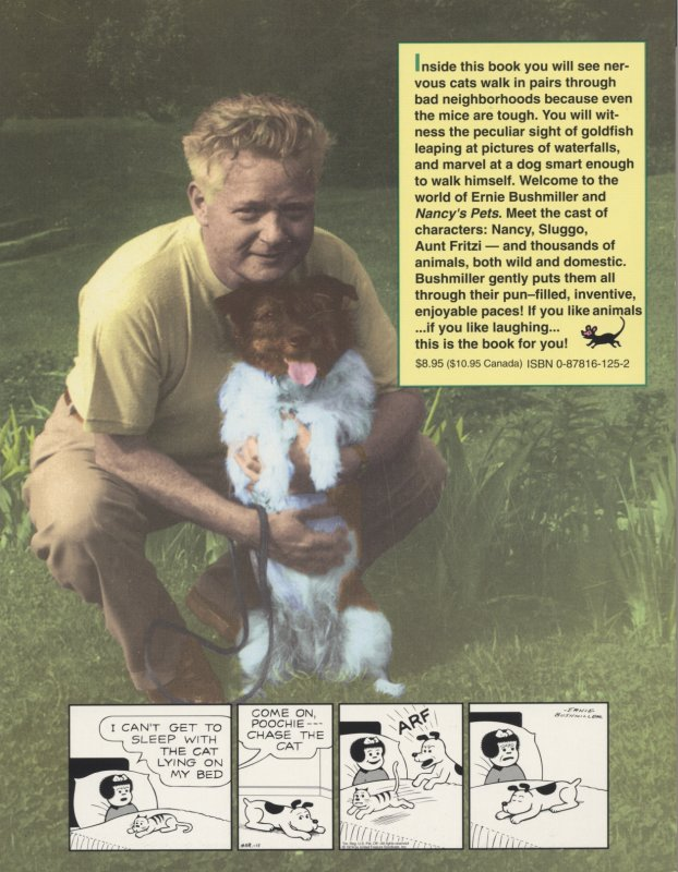 Vol. 5 - Nancys Pets back cover