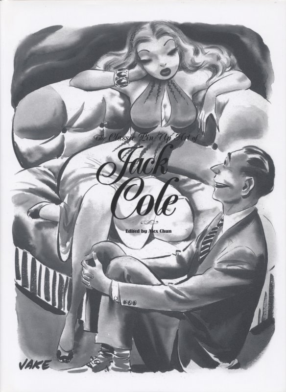 The Classic Pin Up Art of Jack Cole HC