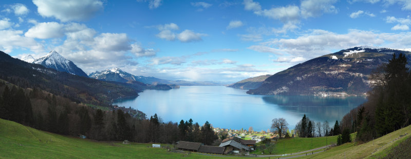 Thunersee from Meielisalp