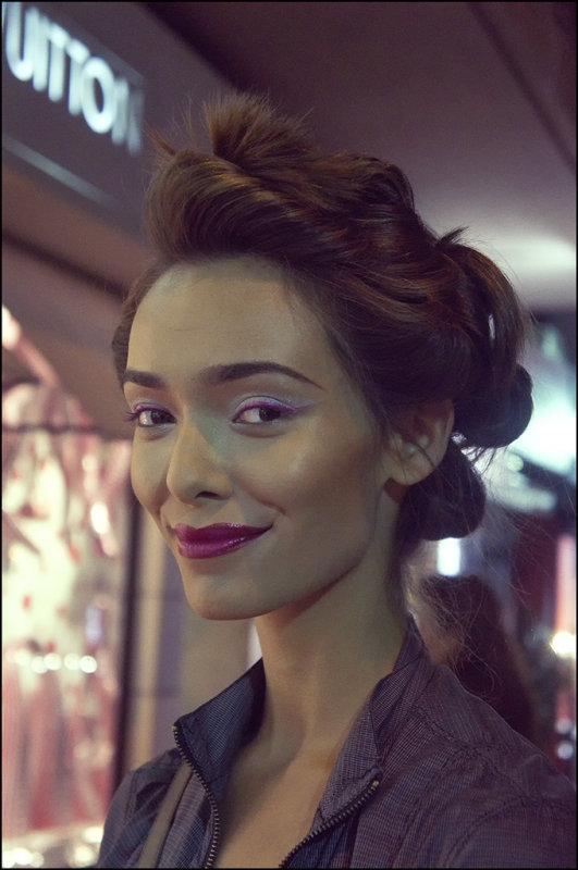Soraya, Israeli Fashion Model
