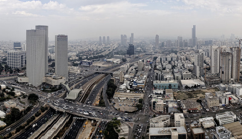 Panorama View of Tel Aviv