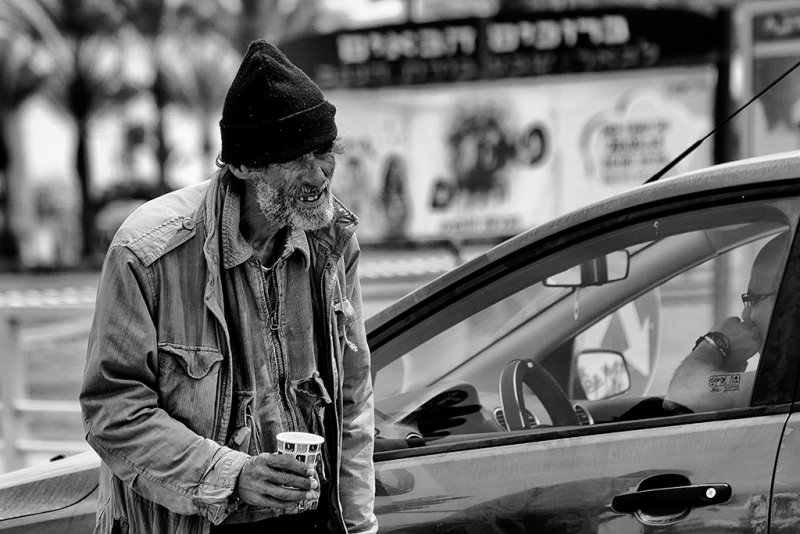 The Beggar and the non-compliant customer