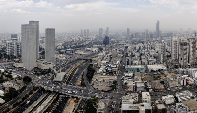 Panorama View of Tel Aviv