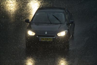 Morning Rain Storm- Winter has arrived