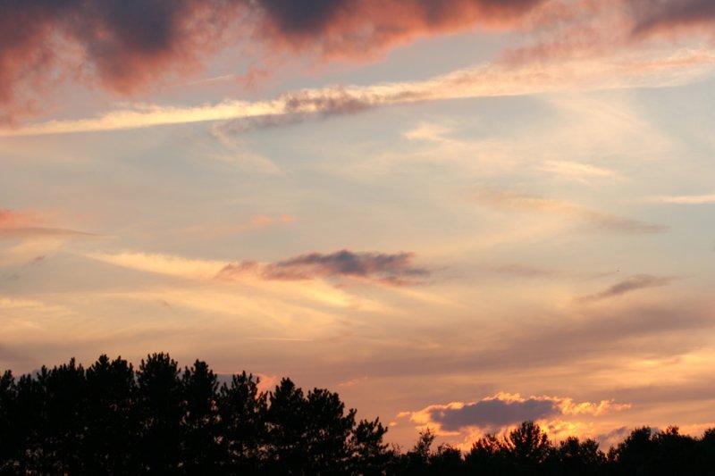 Sunset at Devens
