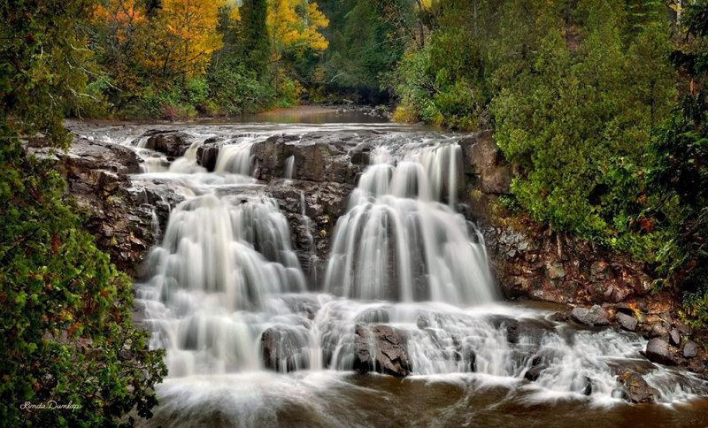 23.1 - Gooseberry: Upper (4th) Falls, Autumn